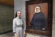 Für Provinzrätin Sr. Tobia Rüttimann ist die selige Mutter Maria Theresia eine Vorbildsfigur. (Bild Andreas Faessler)