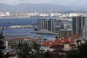 Hier in Gibraltar soll die Firma des Geschäftspartners des Baarer Treuhänders ihren Sitz haben (Bild: Luke MacGregor/Bloomberg)