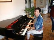 Olivia Rava organisiert die blasmusikalische Projektwoche zum dritten Mal. (Bild Kurt Liembd)