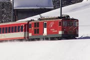 Die Züge der Matterhorn-Gotthard-Bahn verkehren wieder nach Fahrplan. (Bild: PD)
