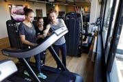 Der Indigo Fitness Club ist seit gut einem Jahr geöffnet und spürt aktuell keinen grossen Konkurrenzkampf. Bild: Werner Schelbert (Zug, 1. Oktober 2015)