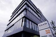 Sitz der Ascom in Baar. (Bild: Werner Schelbert / Neue ZZ)