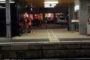 Der Bahnhof in Baar. (Bild Werner Schelbert/Neue ZZ)