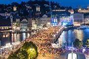 Das Luzerner Fest 2015 findet rund um das Luzerner Seebecken statt. (Bild: PD)