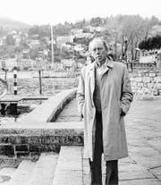 Heinrich Böll 1985 in Ascona. (Bild: Ulstein)