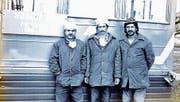 1986 arbeitete Kuznetsov (links) am Tschernobyl-Sarkophag. (Bild: PD)