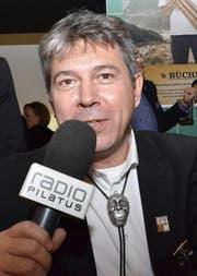 Übte sich hier Roger Geri als neuer Moderator von Radio Pilatus? (Bild: su)