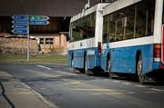 Keine Busbucht im Stampfli in Obernau (Bild: Pius Amrein / Neue LZ)