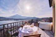 Auf Platz 11 der besten Luzerner Stadthotels im Bilanz-Ranking und bestes Viersterne-Stadthotel weltweit: Art Deco Hotel Montana. (Bild: pd)