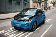 Der BMW i3 gibt es neu mit einer stärkeren Batterie. (Bild: PD)