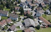 Blick aufs Dorfzentrum von Neuheim. (Archivbild Stefan Kaiser)