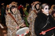 Fasnacht: Katzenmusik in Isenthal. (Bild: Elias Bricker (UZ))