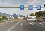 Die Unfallstelle in Stans. (Archivbild Google Maps)