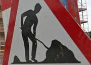 Während den Bauarbeiten kommt es zu Verkehrsbehinderungen. (Symbolbild Neue LZ)
