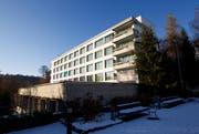 Im ehemaligen Pflegeheim Hirschpark in der Stadt Luzern wird ein Asylzentrum eingerichtet. (Bild: Manuela Jans / Neue LZ)