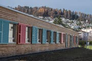 Blick aufs Asylzentrum Grosshof. (Bild: Nadia Schärli, Kriens, 24. November 2017)