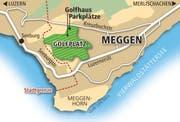 Der geplante Standort des Golfplatz Meggen. (Bild: Grafik: Loris Succo)