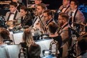 Brassband Rickenbach (Bild: Christian H. Hildebrand (Zug, 17. März 2018))
