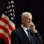 Respektiert: James Mattis, Verteidigungsminister. (Bild: Franck Robichon/Keystone)