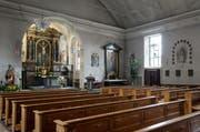 In der Peterskapelle will die katholische Kirche eine sogenannte City-Pastoral einrichten. Doch das Projekt stockt. (Bild: Remo Naegeli / Neue LZ)