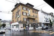 Das Haus an der Luzernerstrasse 22 in Kriens. Hier sollen Ende August Schüsse abgegeben worden sein. (Bild Manuela Jans)