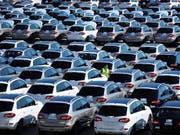 Ab dem Jahr 2040 sollen in Frankreich keine Autos mit Verbrennungsmotoren mehr verkauft werden. (Symbolbild) (Bild: KEYSTONE/AP CHINATOPIX)