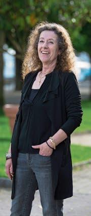 Ursula Frank, Assistentin des Chefredaktors der «Luzerner Zeitung», fotografiert am Quai in Luzern. (Bild: Eveline Beerkircher (11. Mai 2017))