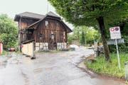 Neu im kantonalen Denkmalverzeichnis: das Salzmagazin an der Eichwaldstrasse. (Bild Roger Grütter)
