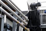 Die Biogas-Anlage in Inwil. (Bild Boris Bürgisser/Neue LZ)