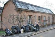 Die leer stehende Viscose-Fabrikhalle in Emmebrücke. (Bild Thomas Heer/Neue LZ)
