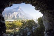 Der vor einem Jahr erweiterte Gottardo-Wanderweg eröffnet wunderbare Aussichten wie etwa auf den Urner Talboden.
