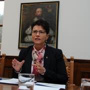 Finanzdirektorin Maya Büchi steht neu der Obwaldner Regierung vor. (Bild: Markus von Rotz (Sarnen, 9. Februar 2017))