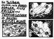 Luca Schenardis Teletext-Zeichnungen.