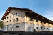 Das neue «Multifunktionale Gebäude», genannt «MUFU». (Bild: zvg)