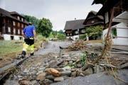 Das schwere Unwetter im Juni 2015 forderte in Dierikon zwei Todesopfer. (Bild Corinne Glanzmann)