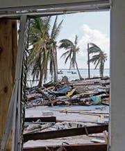 Extremereignisse wie Hurrikans rücken den Klimawandel ins Bewusstsein. (Bild: Alan Diaz/AP (Big Pine Key/Florida, 13. September 2017))