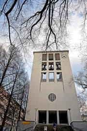 Die reformierte Lukaskirche in der Stadt Luzern. (Bild Nadia Schärli)