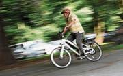 Bei den E-Bikes nahm die Anzahl schwerer Unfälle am stärksten zu. (Symbolbild: Tobias Hase)