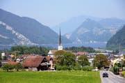 Die Pfarrkirche in Alpnach. (Bild: Robert Hess / OZ)