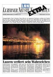 Hat den Brand der Brücke verschlafen: Der damalige Stadtpräsident Franz Kurzmeyer. (Bild: Nadia Schärli)