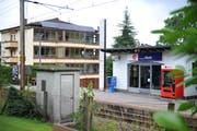 Die Haltestelle Matt in Hergiswil im Jahr 2009. (Archivbild Corinne Glanzmann / Neue NZ)