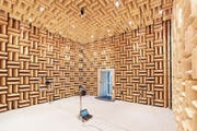 Im echofreien Raum klingt die menschliche Stimme seltsam eindimensional. (Bild: PD)