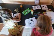 Frühe Förderung: Laut einer Studie profitieren Kinder aus Familien mit einem tiefen Bildungsstand. (Symbolbild Keystone)