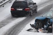 Die Strecke war zum Zeitpunkt des Unfalls schneebedeckt. (Bild: Geri Holdener / Bote der Urschweiz)