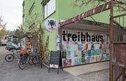 Das Treibhaus liegt am Spelteriniweg im Tribschenquartier. (Bild: Dominik Wunderli (Luzern, 10. November 2017))