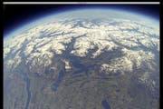 Ein Blick über die Zentralschweiz und die Alpen, wie ihn fast keiner kennt. (Bild: pd)