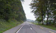 Auch auf der Hauptstrasse zwischen Sihlbrugg und Baar müssen die Waldeigentümer die Bäume zurückschneiden. (Bild: Google Maps)