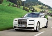 EIn Auto für die Majestät: Der neue Rolls-Royce Phantom. (Bild: tg)