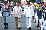 Der Philippinische Präsident Duterte will den Holocaust gegen Drogenabhängige. (Bild: EPA/ACE MORANDANTE / PPD / HANDOUT)