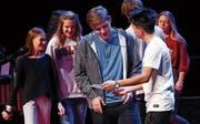 Das Theater erzählt aus dem Schulalltag. (Bild: Werner Schelbert (Zug, 16. November 2017))